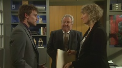 Rhys Lawson, Martin Chambers, Jessica Girwood in Neighbours Episode 6293