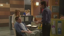 Natasha Williams, Michael Williams, Rhys Lawson in Neighbours Episode 6294
