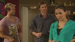 Dane Canning, Rhys Lawson, Jade Mitchell in Neighbours Episode 6294