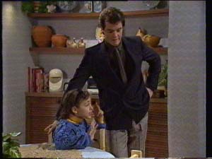 Paul Robinson, Lucy Robinson in Neighbours Episode 0306
