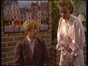 Eileen Clarke, Daphne Clarke in Neighbours Episode 0307