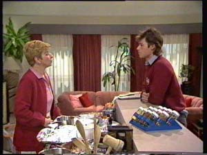 Eileen Clarke, Mike Young in Neighbours Episode 0308