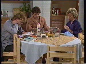 Paul Robinson, Scott Robinson, Helen Daniels in Neighbours Episode 0308