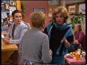 Kate Gibbons, Eileen Clarke, Madge Mitchell in Neighbours Episode 0310
