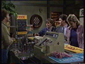 Alex Carter, Tom Ramsay, Paul Robinson, Shane Ramsay in Neighbours Episode 0311