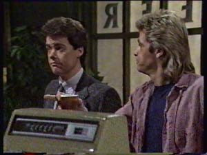 Paul Robinson, Shane Ramsay in Neighbours Episode 0311