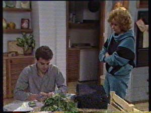 Paul Robinson, Madge Bishop in Neighbours Episode 0311