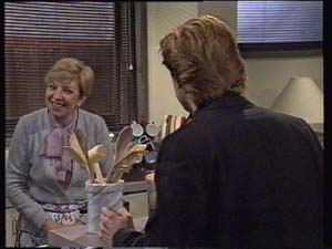 Eileen Clarke, Clive Gibbons in Neighbours Episode 0312