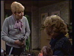 Eileen Clarke, Madge Bishop in Neighbours Episode 0312