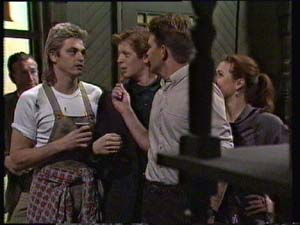 Shane Ramsay, Clive Gibbons, Barry Dean in Neighbours Episode 0312