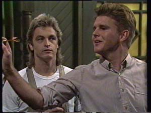 Shane Ramsay, Barry Dean in Neighbours Episode 0312