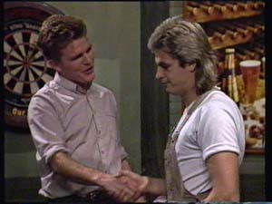 Barry Dean, Shane Ramsay in Neighbours Episode 0312