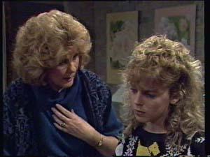 Madge Bishop, Charlene Mitchell in Neighbours Episode 0312