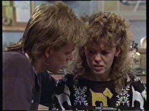 Scott Robinson, Charlene Mitchell in Neighbours Episode 0313
