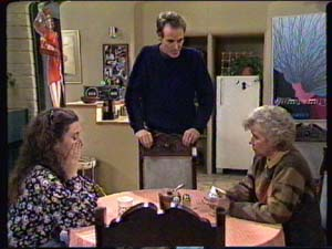 Helen Daniels, Graham Gibbons, Kate Gibbons in Neighbours Episode 0316