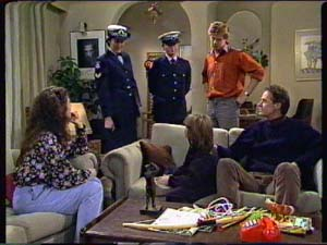 Kate Gibbons, Vicki Gibbons, Clive Gibbons, Graham Gibbons in Neighbours Episode 0316