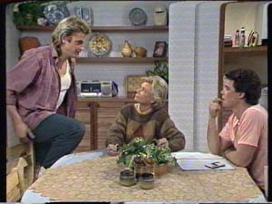 Shane Ramsay, Helen Daniels, Paul Robinson in Neighbours Episode 0317