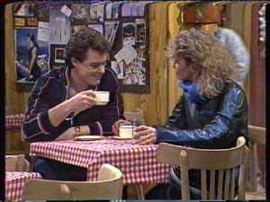 Paul Robinson, Patty Collins in Neighbours Episode 0317
