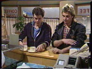 Paul Robinson, Shane Ramsay in Neighbours Episode 0317