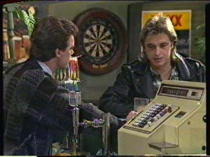 Paul Robinson, Shane Ramsay in Neighbours Episode 0320