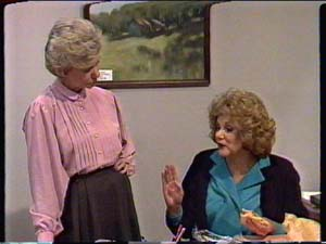 Helen Daniels, Madge Bishop in Neighbours Episode 0324