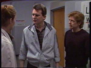 Des Clarke, Clive Gibbons in Neighbours Episode 0326