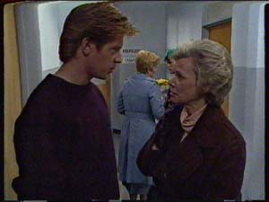 Clive Gibbons, Eileen Clarke, Helen Daniels in Neighbours Episode 0327