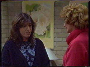 Susan Cole, Madge Bishop in Neighbours Episode 0327