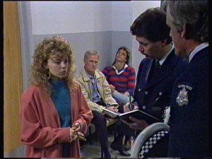 Charlene Mitchell, Ray Murphy, Shane Ramsay in Neighbours Episode 0369