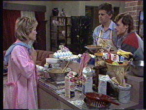 Daphne Clarke, Des Clarke, Mike Young in Neighbours Episode 0371