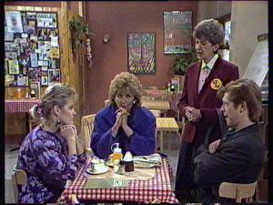 Daphne Clarke, Clive Gibbons, Madge Bishop, Nell Mangel in Neighbours Episode 0371