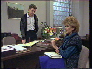 Paul Robinson, Madge Bishop in Neighbours Episode 0372
