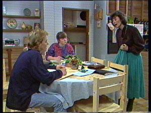 Scott Robinson, Nikki Dennison, Ruth Wilson in Neighbours Episode 0373