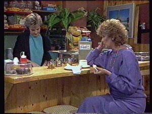 Daphne Clarke, Madge Bishop in Neighbours Episode 0375
