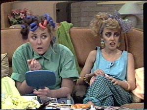 Nikki Dennison, Charlene Mitchell in Neighbours Episode 0388