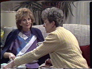 Madge Mitchell, Nell Mangel in Neighbours Episode 0388