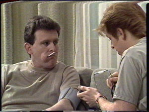 Des Clarke, Clive Gibbons in Neighbours Episode 0390