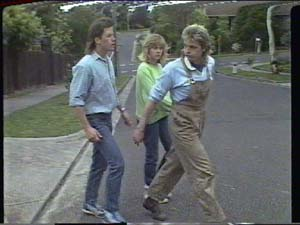 Mike Young, Jane Harris, Shane Ramsay in Neighbours Episode 0393