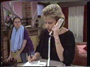 Kelly Morgan, Daphne Clarke in Neighbours Episode 0394