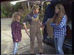 Charlene Mitchell, Shane Ramsay, Kelly Morgan in Neighbours Episode 0395