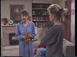 Nell Mangel, Daphne Clarke in Neighbours Episode 0396