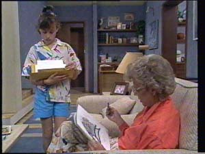 Lucy Robinson, Helen Daniels in Neighbours Episode 0397
