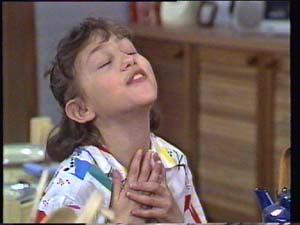 Lucy Robinson in Neighbours Episode 0397