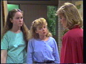 Kelly Morgan, Charlene Mitchell, Jane Harris in Neighbours Episode 0397