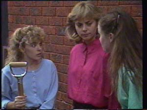 Charlene Mitchell, Jane Harris, Kelly Morgan in Neighbours Episode 0397