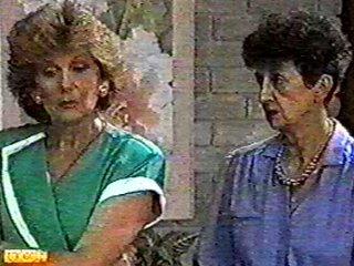 Madge Bishop, Nell Mangel in Neighbours Episode 0488