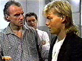 Jim Robinson, Paul Robinson, Scott Robinson in Neighbours Episode 0493