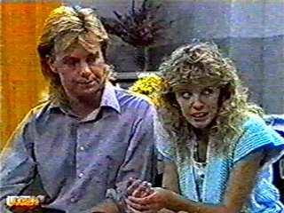Scott Robinson, Charlene Mitchell in Neighbours Episode 0494