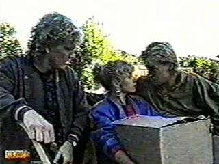 Henry Ramsay, Charlene Mitchell, Scott Robinson in Neighbours Episode 0500