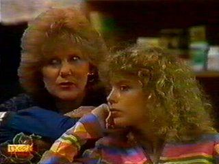 Madge Bishop, Charlene Mitchell in Neighbours Episode 0519